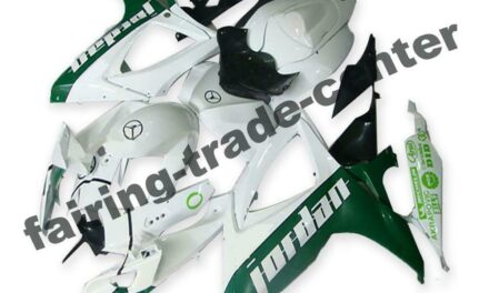 FTC Injection White Green ABS Fairing Fit for Suzuki 2006 2007 GSXR 600 750 a056