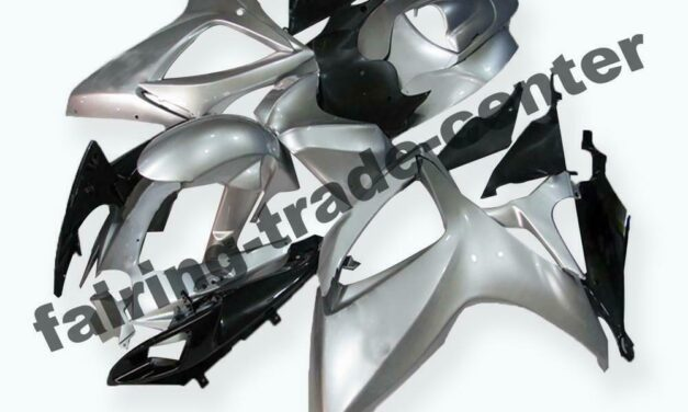 FTC Injection  ABS Sliver  Fairing Fit for Suzuki 2006 2007 GSXR 600 750 a033