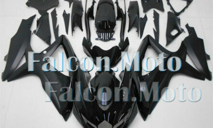 Gloss Matte Black Plastic Injection ABS Fairing Fit for 08-10 GSXR 600/750 K8 AE