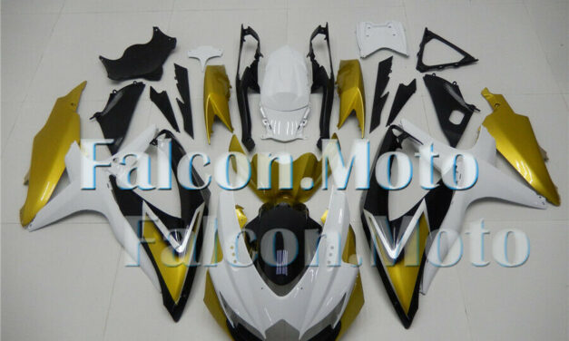 Injection Mold Body Fairing Fit for  GSXR 600/750 2008 2009 2010 K8 iCZ