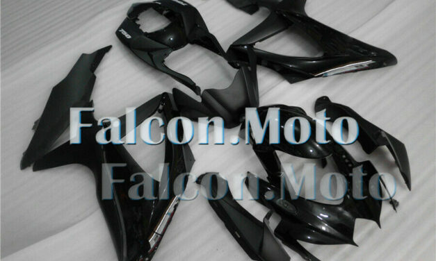 Gloss Matte Black Injection Body Kit Fairing Fit for 2008-2010 GSXR 600 750 Mold