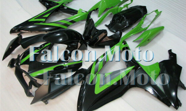 Injection Body Kit Fairing Fit for 2008-2010 GSXR 600 750 K8 Green Black ABS aFI