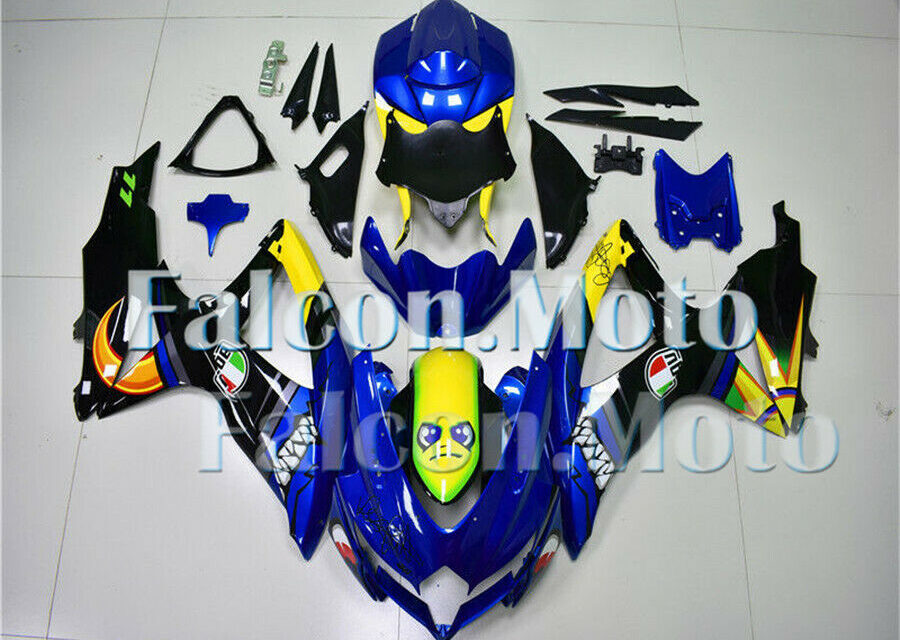 ABS Injection Mold Fairing Fit for 2008 2009 2010 GSXR 600 750 Bodywork 08-10 K8