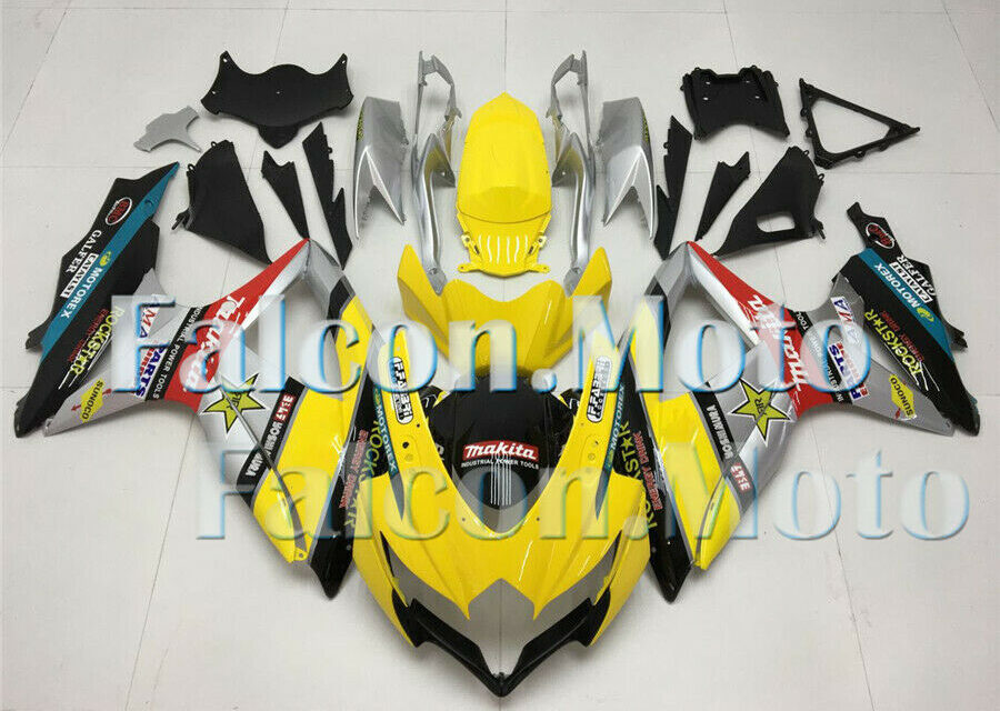 Plastic Injection ABS Fairing Fit for 08-10 GSXR GSX-R 600 750 2008-2010 K8 iAD