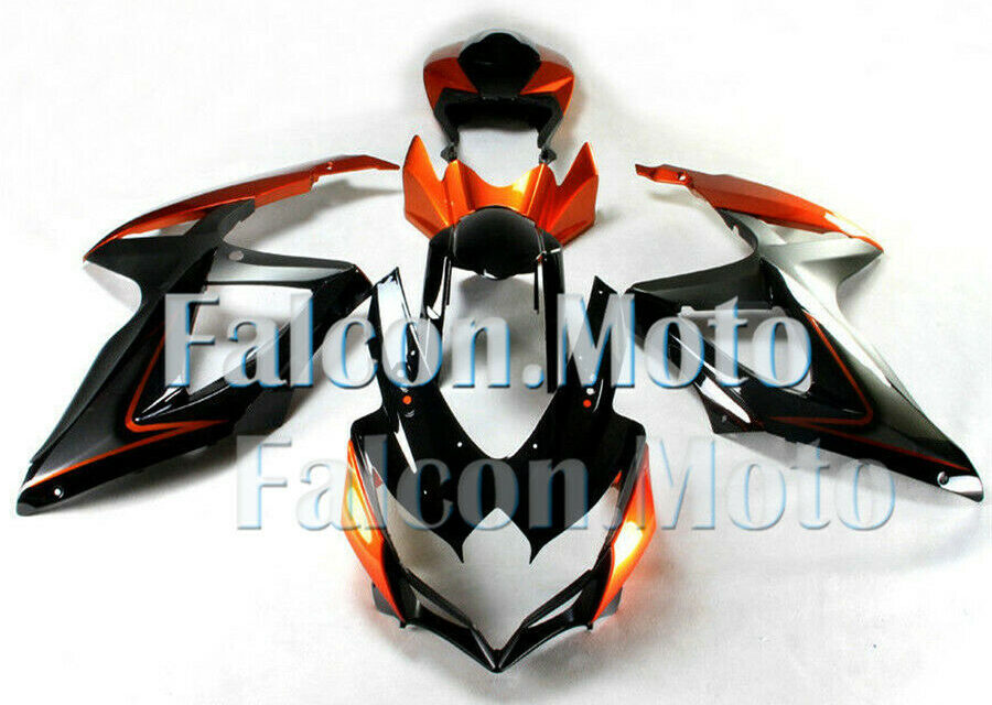 Injection Body Kit Fairing Fit for 2008-2010 GSXR GSX-R 600 750 K8 Mold ABS iBT
