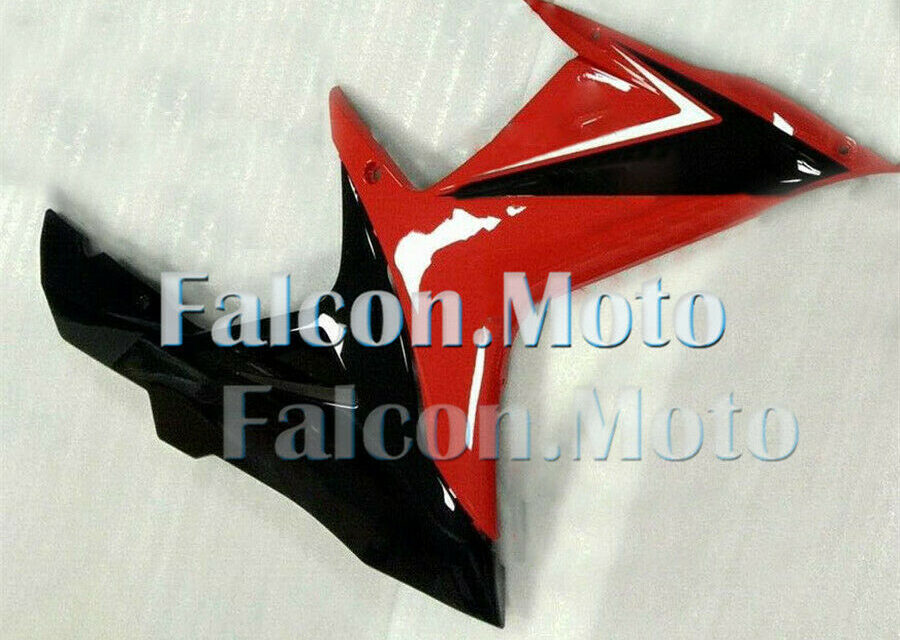 Right Side Fairing for 2011-2018 Suzuki GSXR 600/750 K11 Red Black Injection aAG