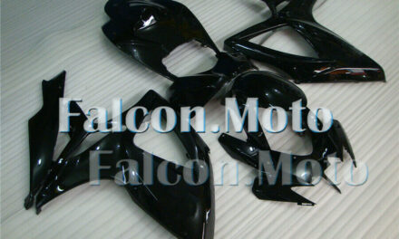 Glossy Black Complete Injection ABS Fairing Fit for GSXR 600 750 K6 2006 2007 AR