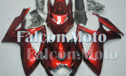 Pearl Red Injection Bodywork Plastic Fairing Fit for 06-07 GSX-R 600 750 K6 aAA