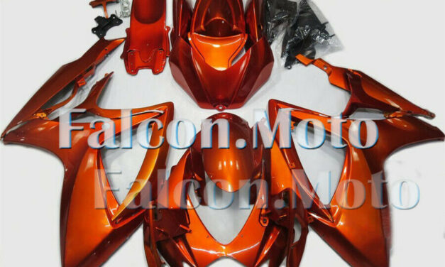 Orange Complete Injection Fairing Fit for 2006 2007 GSXR GSX-R 600 750 06 K6 aAW