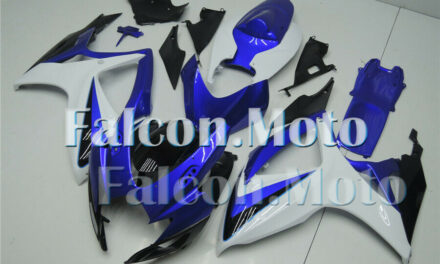 Blue White Black Injection Mold Fairing Fit for GSXR600/750 Plastic 2006 2007 K6