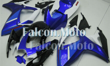 Fairing Injection Blue White Black Fit for 2006-2007 GSXR GSX-R 600 750 ABS aBO