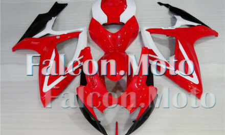 Red White Black Fairing Injection ABS Fit for 2006-2007 GSXR GSX-R 600 750 aBG