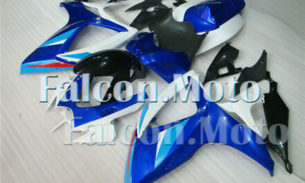 Blue White Black Fairing Injection ABS Fit for 2006-2007 GSXR 600 750K6 Mold CZ