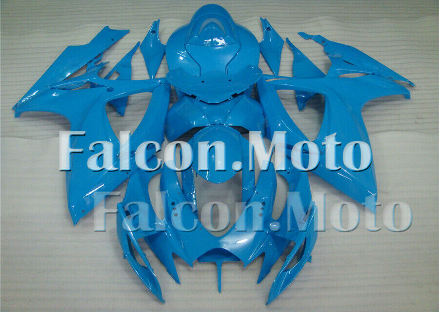 Complete Injection Blue Fairing Fit for 06-07 GSXR GSX-R 600 750 K6 2006 2007 BC