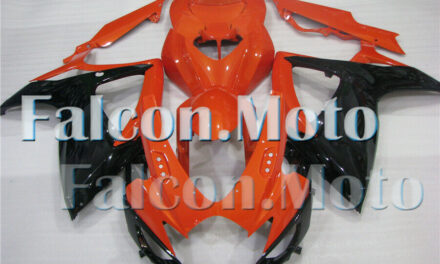 Injection Mold ABS Plastic Fairing Fit for 2006-2007 GSX-R 600 750 Orange Black