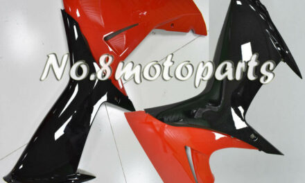 Fit for 11-2018 Suzuki GSXR 600 750 K11 Left Right Side Fairings Gloss Black Red