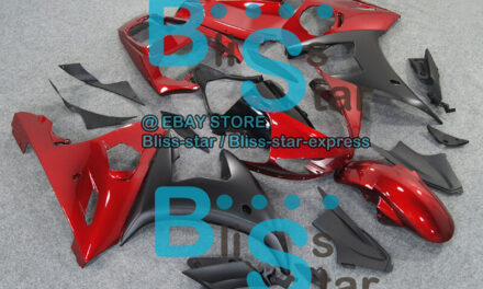 Red INJECTION Fairing Fit Yamaha YZFR6 YZF-R6 2003-2005 R6S 2006-2009 38 A7