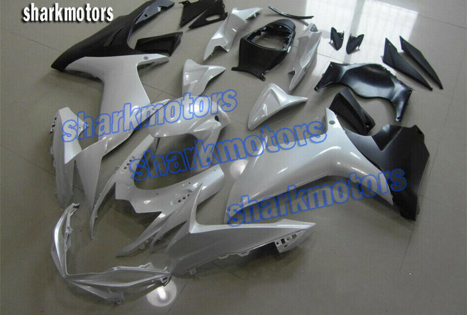 Fairing Injection Plastic Fit for 2011-2020 GSX-R 600 750 K11 Pearl White Black