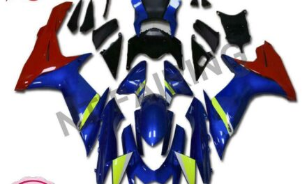Fit for SUZUKI 2011-2020 GSXR 600/750 Injection Mold Blue Red Fairing a044