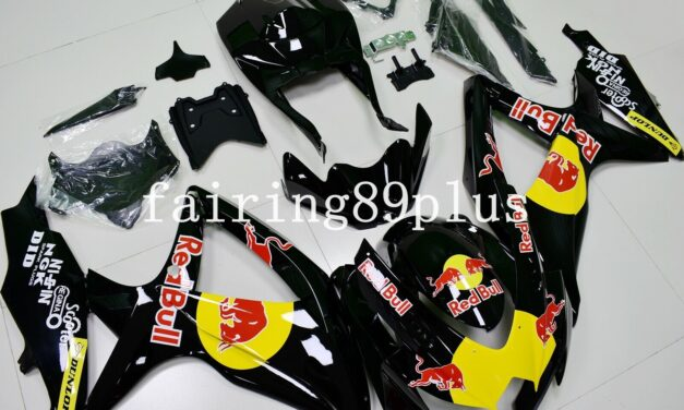 Black Red Yellow ABS Injection Fairing Kit Fit for 2008-2010 GSXR600 GSXR750