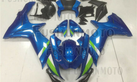 Blue Injection ABS Bodywork Fairing Kit Fit for GSX-R 600 750 K11 2011-2018 a51
