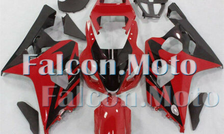 Red Black Fairing Fit for GSXR 600 750 K4 2004 2005 Mold Plastic Injection aIN