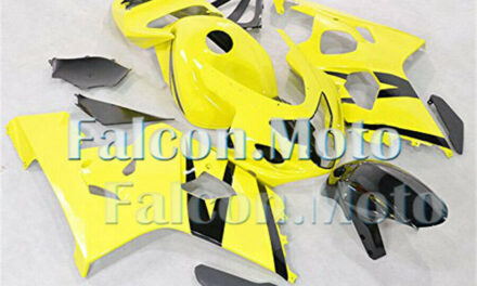 Yellow Black Injection Fairing Fit for 2004 2005 GSXR 600 750 K4 Plastic ABS iEA