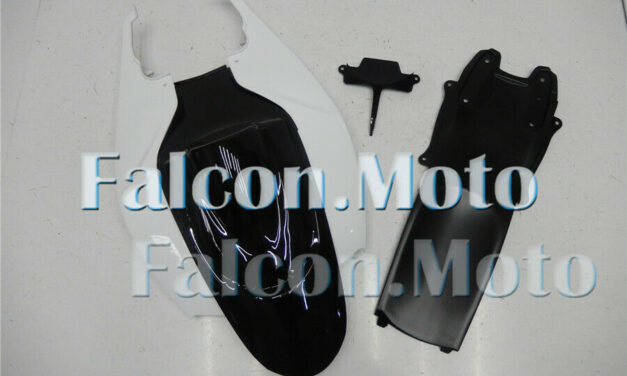 Rear Tail Cowl Fairing for GSX-R 600 750 06-07 K6 ABS Injection Black White aBF