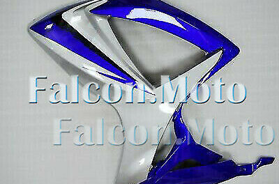 Left Side Fairing for GSX-R 600 750 2006-2007 K6 ABS Injection Silver Blue aAJ