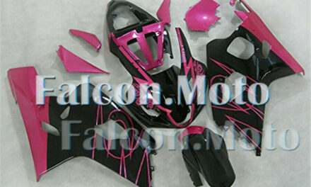 ABS Injection Mold Fairing Fit for 2004-2005 GSX-R 600 750 K4 Pink Black New aID