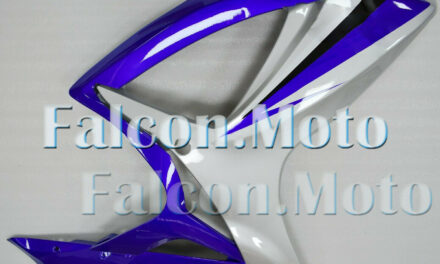 Right Side Fairing for GSX-R 600 750 2006-2007 K6 ABS Injection Silver Blue aAJ