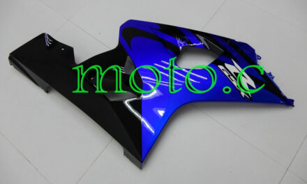 Blue Black Injection Right Side Fairing Plastic Fit for 04-05 GSXR 600 750 K4 Ad
