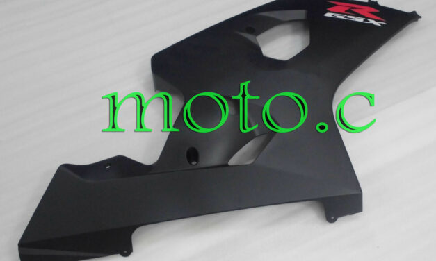 Injection Right Side Fairing Plastic Fit for 04-05 GSX-R 600 750 Matte Black aAh