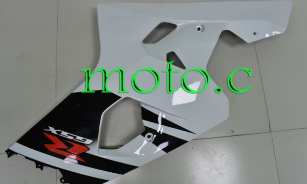 Injection Right Side Fairing Plastic Fit for 04-05 GSX-R 600 750 Black White aAg