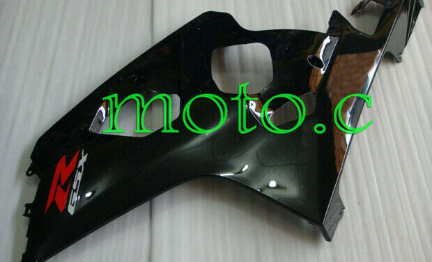 New Glossy Black Left Side Fairing Plastic Fit for 2004-2005 GSXR 600 750 K4 aAa