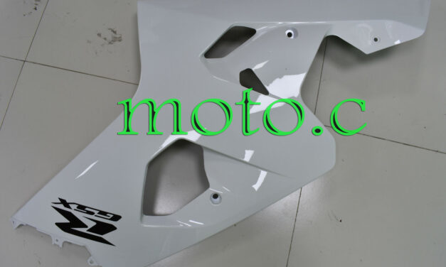 Injection Right Side Fairing Plastic Fit for 04-05 GSX-R 600 750 Glossy White Af