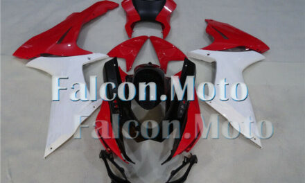 Red White Black ABS Injection Mold Fairing Fit for GSXR 600 750 2011-2019 K11 BO