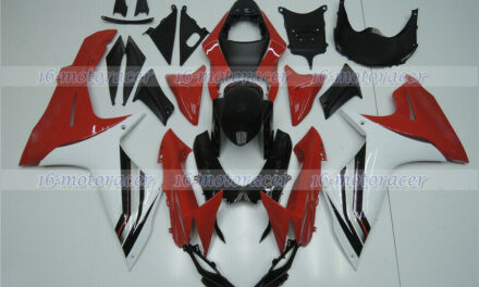 Fairing Red White ABS Injection Plastic Fit for 2011-2018 GSX-R 600 750 K11 a#11