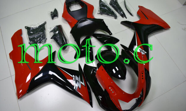 Fairing Kit Fit for GSXR600 GSXR750 2011-2019 ABS Injection Black Red aAa