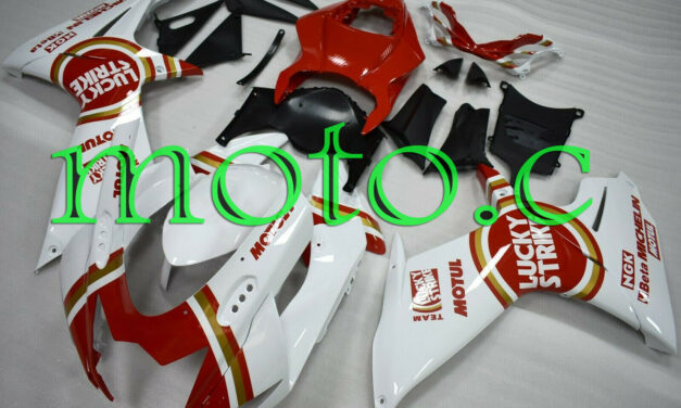 Fairing Kit Fit for GSXR600 GSXR750 2011-2019 ABS Injection Mold Red White aAg