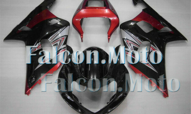 Pearl Red Black Injection Plastic Fairing Fit for 2001-2003 GSX-R 600 750 K1 iAM