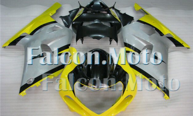 Fairing Fit for 01-03 GSX-R 600 750 2001-2003 Silver Yellow Black Injection aGF