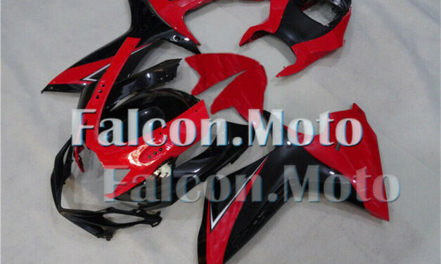 Red Black Injection Fairing kit Fit for 2011-2019 11-19 GSXR600 GSXR750 K11 aDK