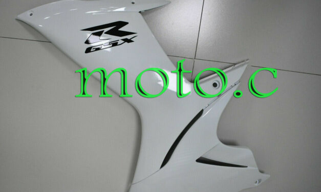 Pearl White Injection Left Side Fairing Fit for 2011-2019 GSX-R 600 750 K11 aAh