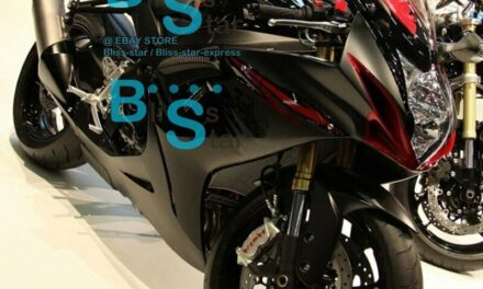 Black INJECTION Fairing Fit For  GSXR750 GSXR600 2011-2016 019 A5