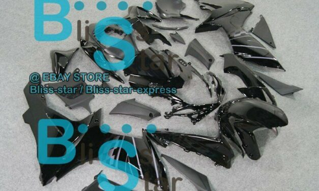 All Black INJECTION Fairing Fit For  GSXR750 GSXR600 2011-2016 012 A4