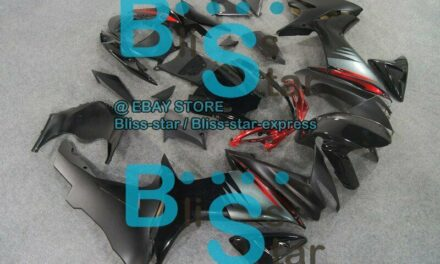 Black INJECTION Fairing Fit For  GSXR750 GSXR600 2011-2016 22 A1