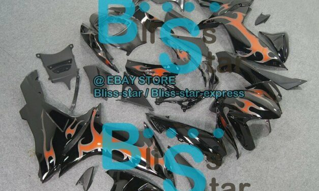 Decals Black INJECTION Fairing Fit For  GSXR750 GSXR600 2011-2016 008 A3
