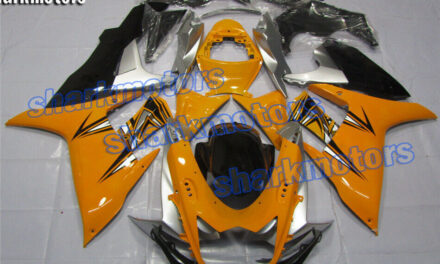 Fairing Injection Plastic Fit for 2011-2020 GSXR 600 750 K11 Silver yellow black