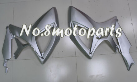 Fit for GSXR 600 750 2006-2007 Matte Silver Left Right Side Fairings Plastic a24